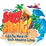 Surf Shack Vacation Bible School Logo